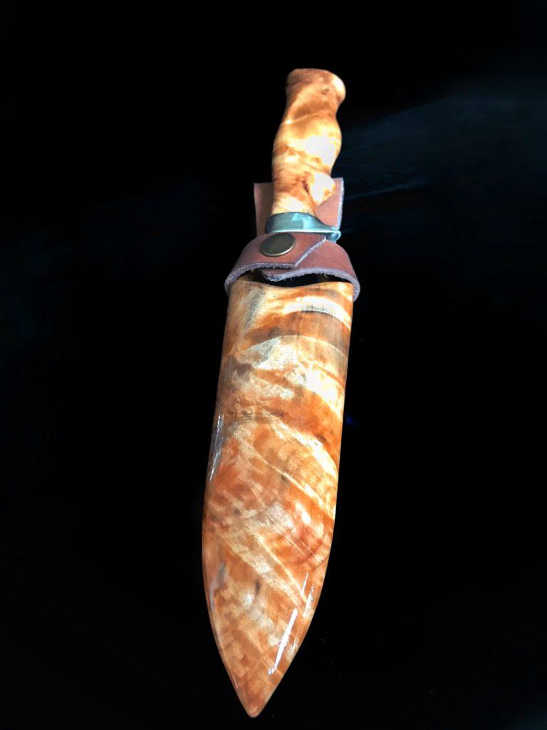 Нож из капа